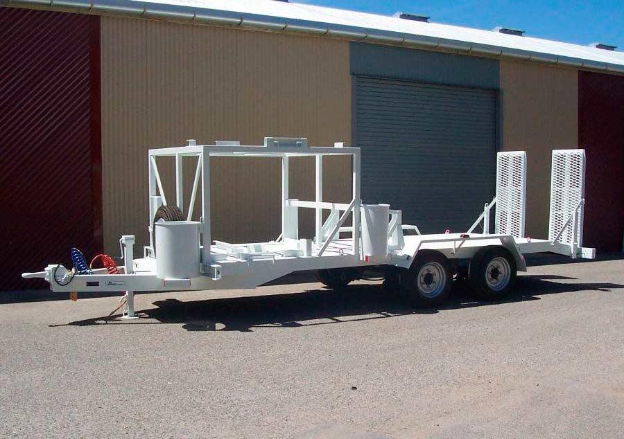 8t plant trailer