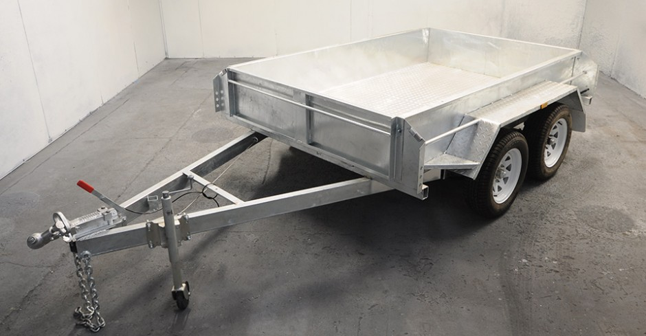 8x5 Tandem Axle Box Trailer